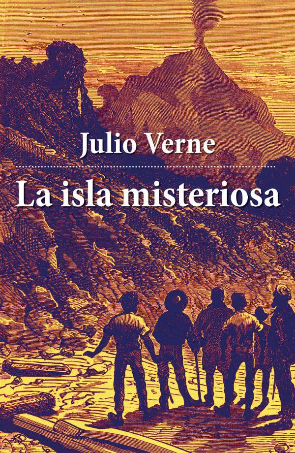 Resultado de imagen para La Isla Misteriosa Julio Verne ilustraciones y fragmento